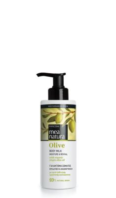 Mea Natura Olive Body Milk Moisture and Nourishment 250ml