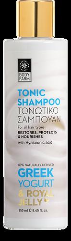 Bodyfarm Greek Yogurt & Royal Jelly Tonic Shampoo