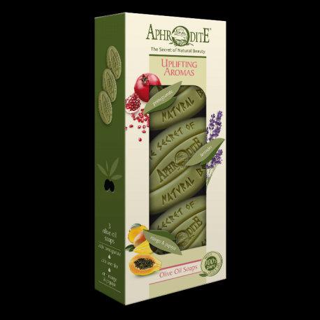 APHRODITE Uplifting Aromas Three Soaps Gift Set
