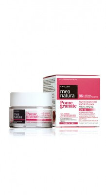 Mea Natura Pomegranate Anti-Ageing, Anti-Wrinkle Face Day Cream SPF15 50ml