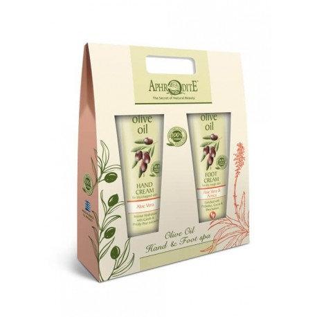 APHRODITE Olive Oil Hand & Foot Spa Set