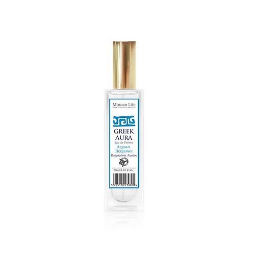 Greek Aura Eau de Toilette – Aegean Bergamot 30ml