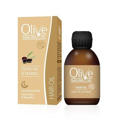 Minoan Life Hair Oil – Olive Oil & Fennel 90ml