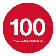 100 Days - logo