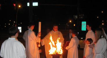 St Malachi, Easter Vigil
