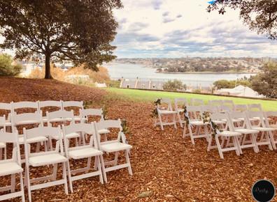 Outdoor Wedding - Observatory Hill Park