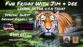 Fun Friday With Jim And Dee - Special Guest George Orwell - 09/04/2020