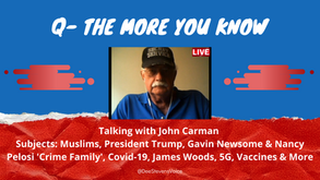 Q-The More You Know - With John Carman