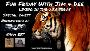 Fun Friday with Jim and Dee - With Special Guest NinjaStuntz - 09/11/2020