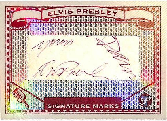 Elvis Presley Cut Signature