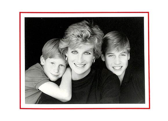 Diana, Princess of Wales Signed Card: