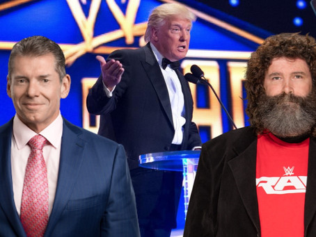 Mick Foley Urges Vince McMahon To Throw Donald Trump Out Of The WWE HOF