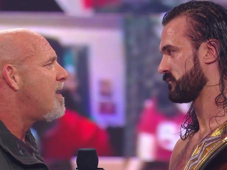 Goldberg Returns To Confront WWE Champion Drew McIntyre on RAW Legends Night