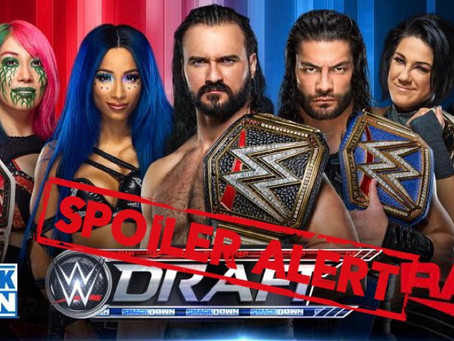 Possible Spoiler On The WWE Draft, Big Names Who Will Be Moving Shows