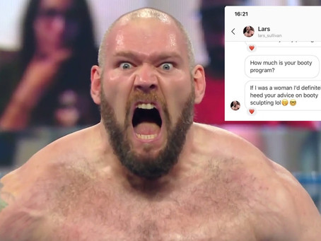 Lars Sullivan Under Controversy Once Again For Sending Inappropriate Messages To Married Woman