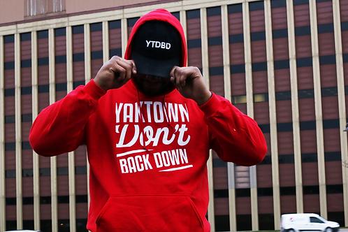 YTDBD FIRE RED HOODIE