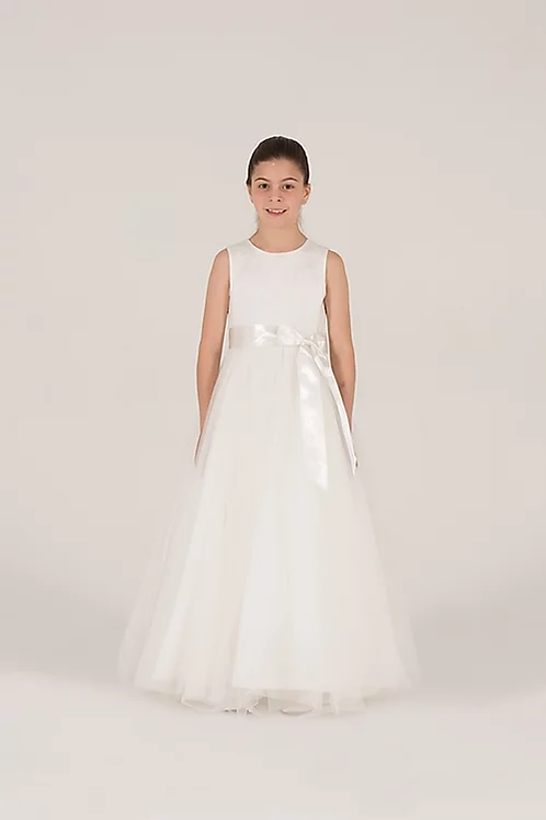 Communion/Flowergirl Gown 6078 White