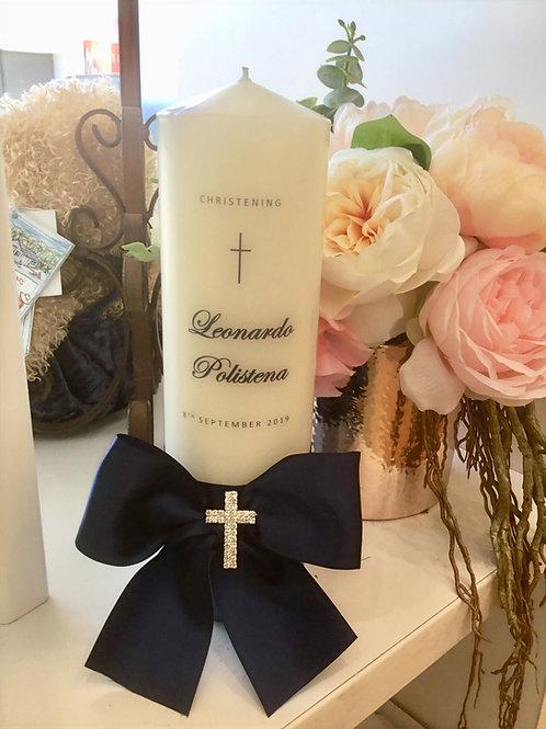 Personalised Candle Leonardo Style