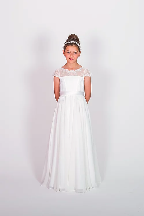 Communion/Flowergirl Gown 6115 White