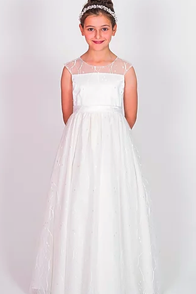 Communion/Flowergirl Gown 6119 Ivory
