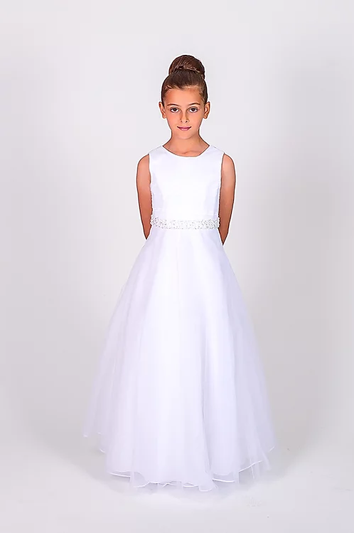 Communion/Flowergirl Gown 6088 White