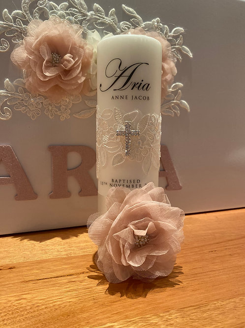 Personalised Candle Aria Style