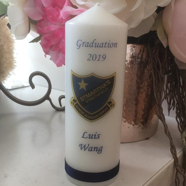 School Graduation candle 6x2.jpg