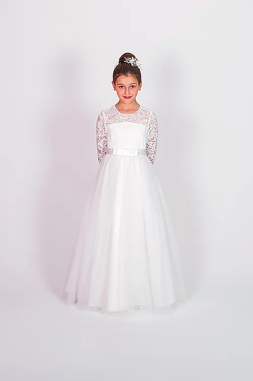 Communion/Flowergirl Gown 6116 White