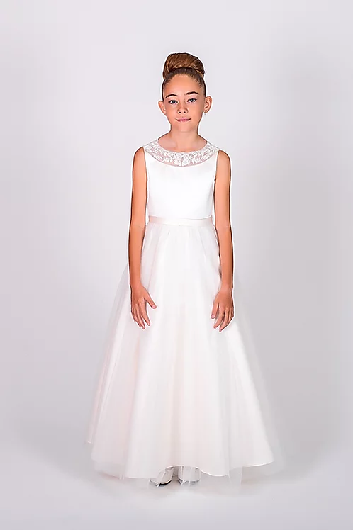 Communion/Flowergirl Gown 6102 Ivory