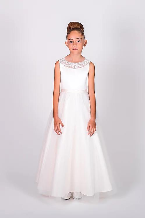 Communion/Flowergirl Gown 6102 White