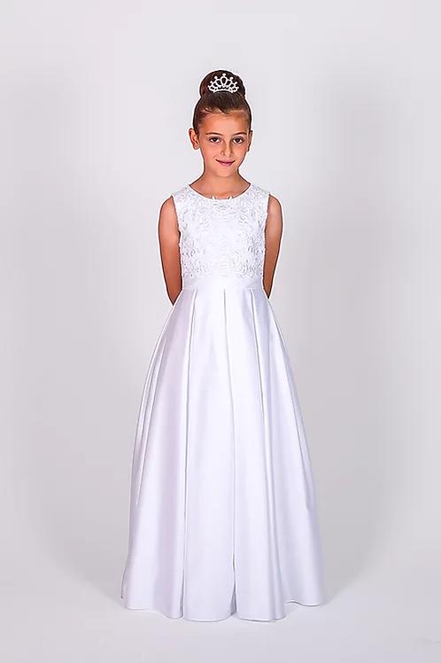 Communion/Flowergirl Gown 6108 White