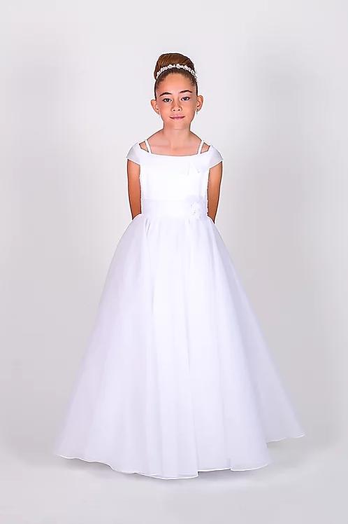 Communion/Flowergirl Gown 6107 White