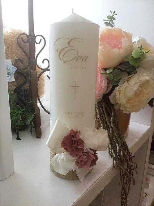 Personalised Candle Eva Zuvela Style