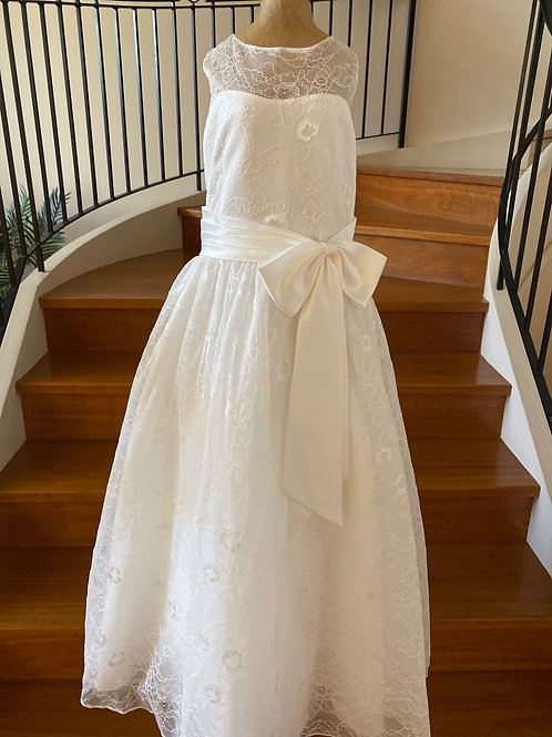 Communion Flowergirl Dress Nicolette Ivory