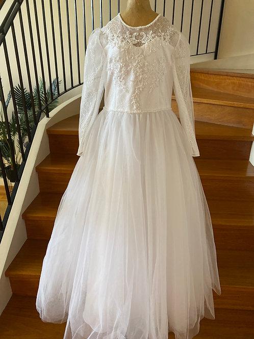 Communion Flowergirl Dress   Alexa White