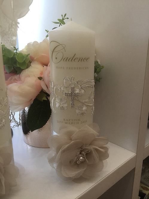 Personalised Candle Cadence Style