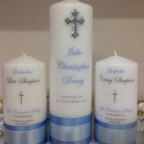 Personalised Candle Jake Christopher Style