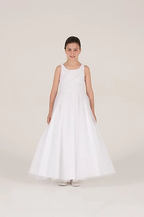 Communion/Flowergirl Gown 6072 White