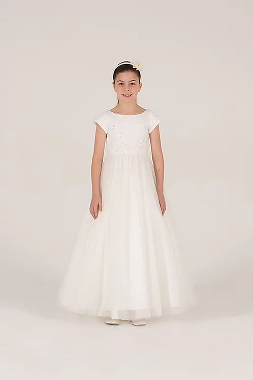 Communion/Flowergirl Gown 6090 White