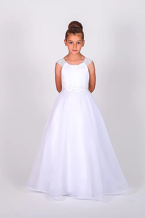 Communion/Flowergirl Gown 6106 White