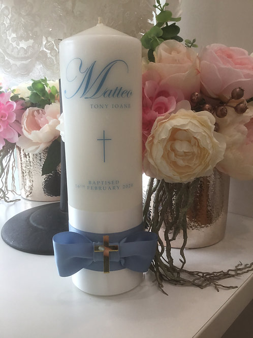 Personalised Candle Matteo Style