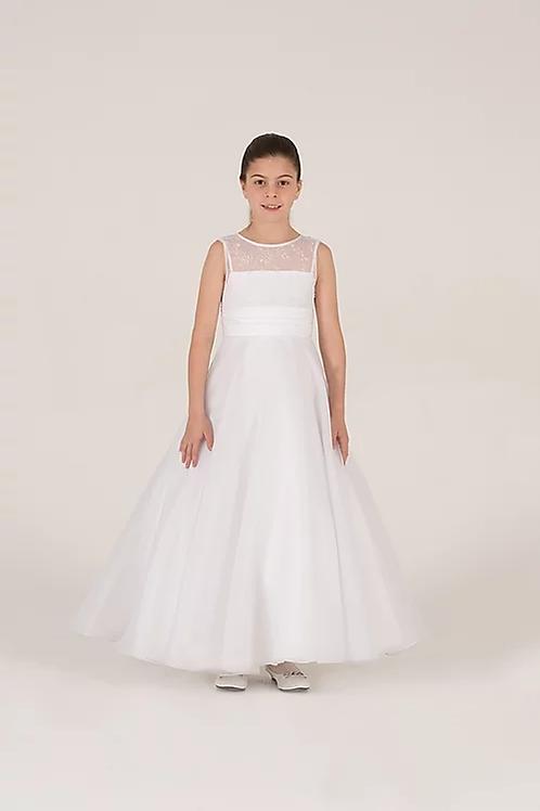 Communion/Flowergirl Gown 6074 White
