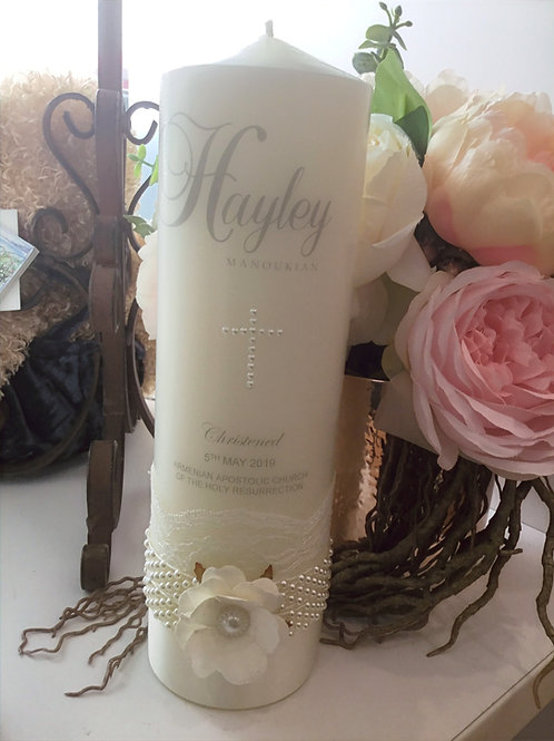 Personalised Candle Hayley Style