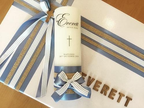 Personalised Candle Everett Style