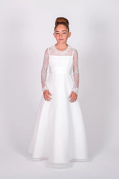 Communion/Flowergirl Gown 6112 White
