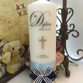 Personalised Candle Dylan Style