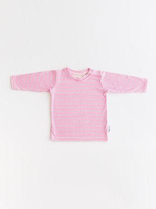 Pink vanilla ripple t-shirt