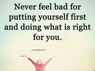 It's Okay to Put Yourself First!