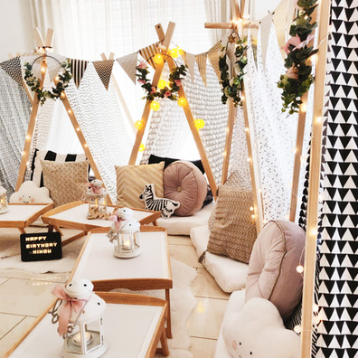 Teepee Friends Create Your Own Sleepover Party