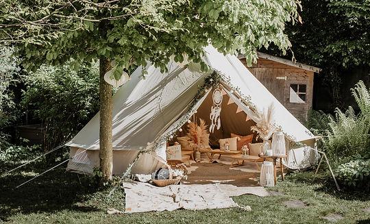 Teepee Friends Gartenzelt Outdoor Tent Kids Party Sleepover Outside